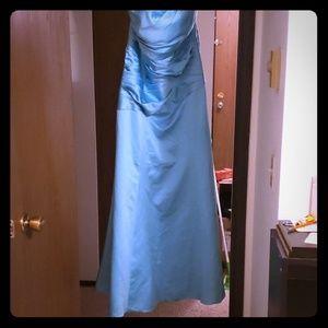 Cyan Gown